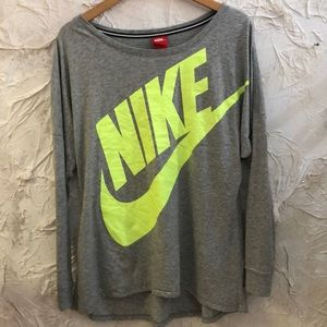 Nike Tops - Nike Long Sleeve recycled poly organic cotton Tee